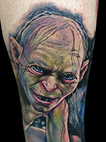 Gollum by Alex Rattray