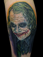Heath Ledger Joker by Alex Rattray