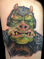 Gamorrean Guard by Alex Rattray