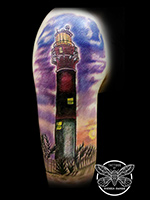 Lighthouse by Andrea Swabb