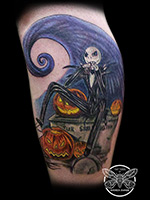 Jack Skellington by Andrea Swabb
