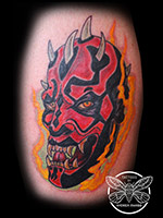 Darth Maul by Andrea Swabb