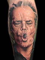 Jack Nicholson by Chris Jones