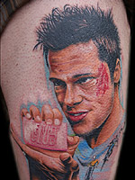 Tyler Durden by Chris Jones