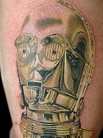 C-3PO by Chris Jones