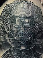 HR Giger // Darth Vader by Eric Vie