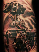 Johnny 5 by Kelly Rogers