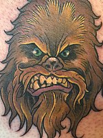 Angry Chewie by Mike Bianco