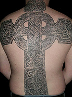 Celtic cross by Shannon Ritchie
